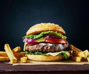 Neu auf der Speisekarte: Der Wolfert Burger!